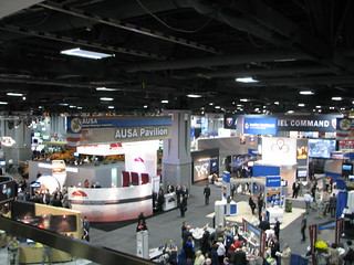 AUSA 2011 Expo Exhibit Hall | by ClearanceJobs