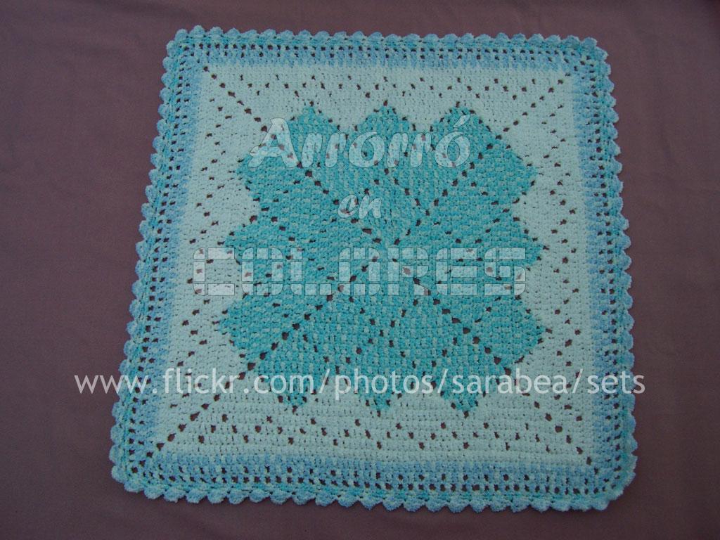 Simplicidad manta para beb al crochet pattern - Mantas de bebe hechas a ganchillo ...