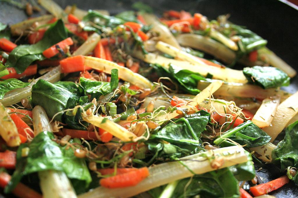 Verduras salteadas con arroz yaman receta - Arroz con pescado y verduras ...