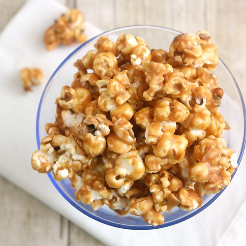 Peanut Butter Caramel Corn | by Tracey's Culinary Adventures