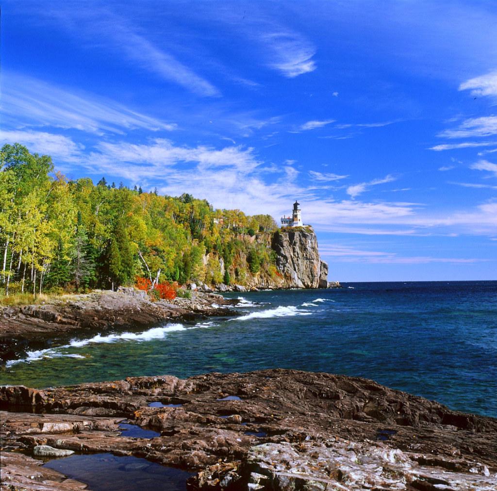Lake Superior: Split Rock Lighthouse State Park ~ Lake Superior/MN