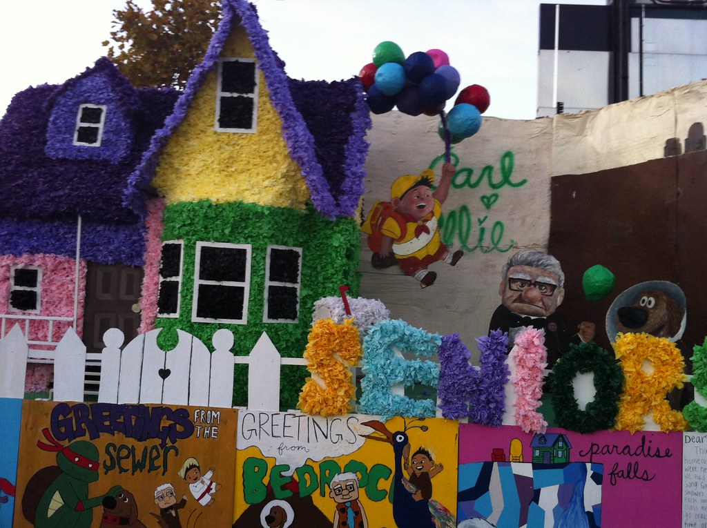 Pics photos homecoming parade float ideas - Homecoming Float My Son S High School Float Themes Were