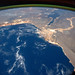 Oblique View Showing the Mediterranean Sea Area