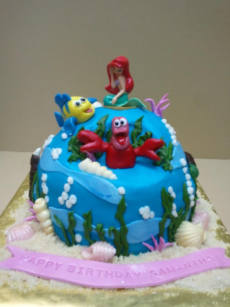 Professional Little Mermaid Cakes