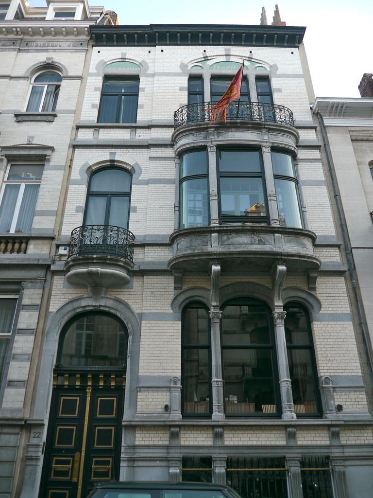 bruxelles belgique rue jordaens maison bourgeoise de st
