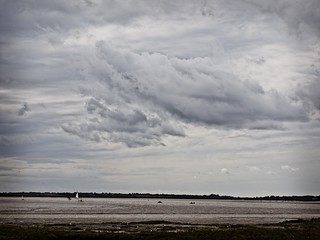 Clouds over the river Colne | by Ludovic Lemaignen