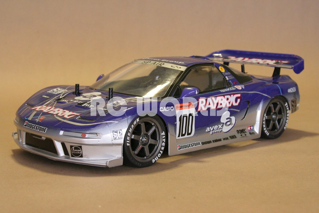 Tamiya Rc Acura Nsx Raybring 2000 Race Car Rc World Flickr