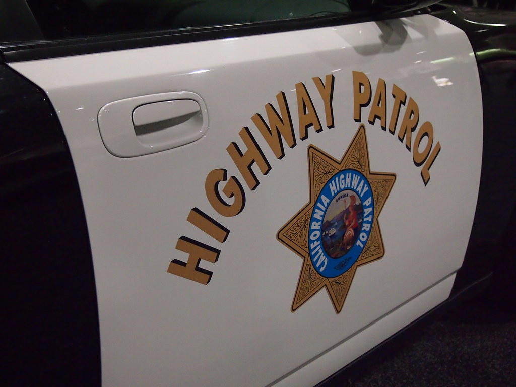 california highway patrol logo on side of car cool sign. Black Bedroom Furniture Sets. Home Design Ideas
