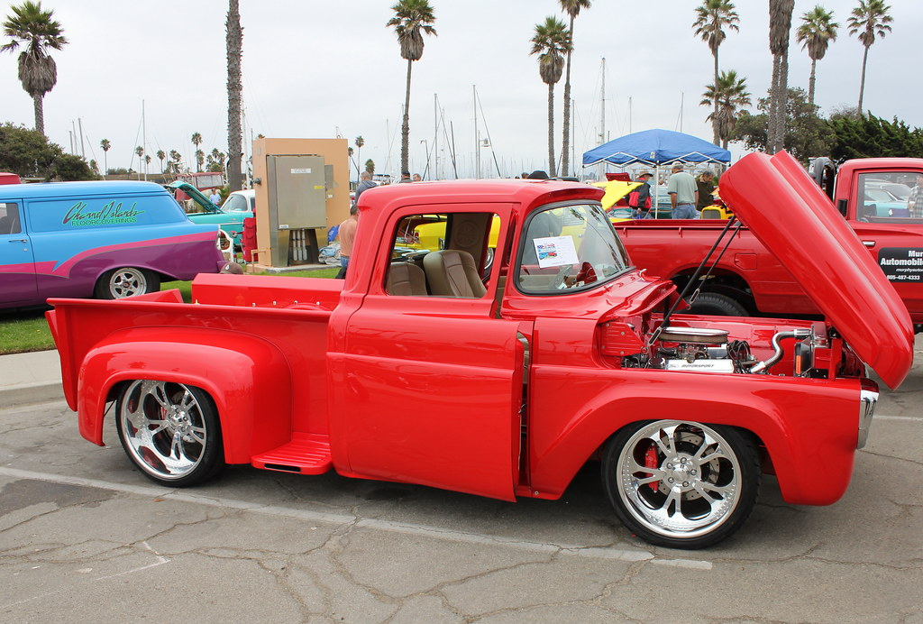 This Hot Red 1957 Ford F100 Is A Gem On Wheels A Red