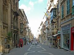 Merchants Street - Valletta, Malta