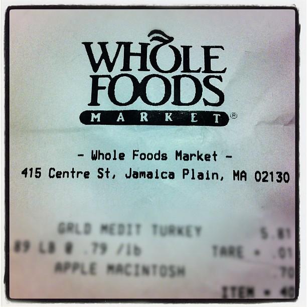 Whole Foods Plain Rotisserie Chicken Ingredients
