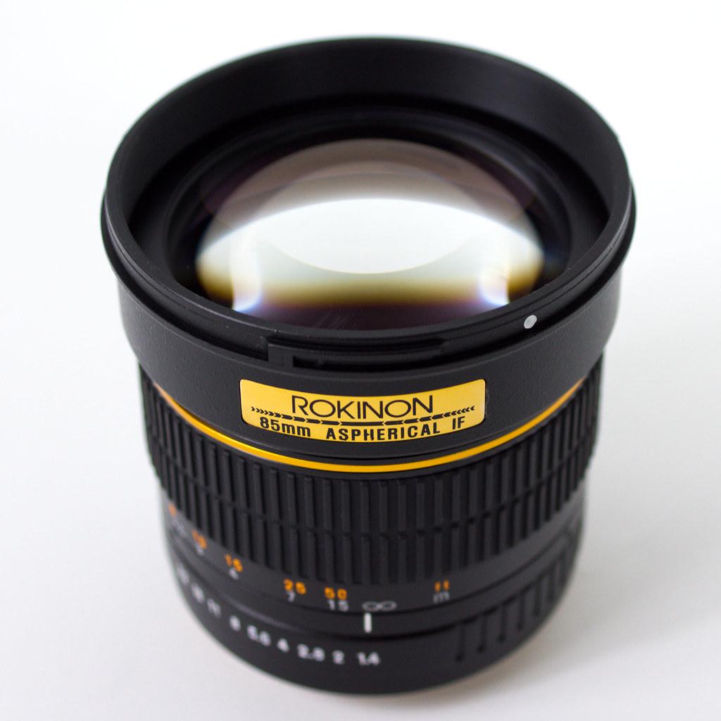 Rokinon 85mm 1.4 full frame lens   Affordable High Speed Len…   Flickr