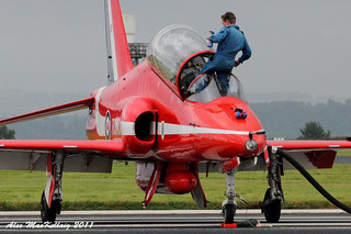 RAF Leuchars Airshow 2011 Red Arrows | by AMKs_Photos