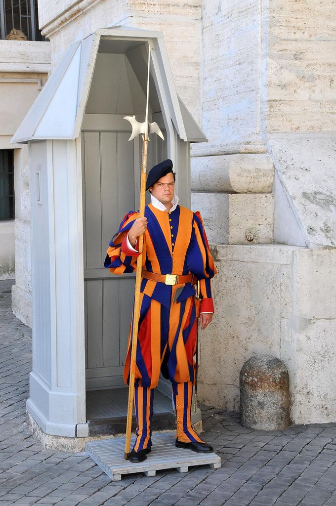 Zwitserse Garde Vaticaanstad Facemepls Flickr