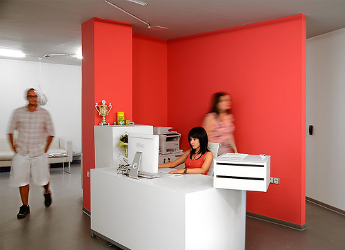 The Mags reception desk | by The Mags Agency
