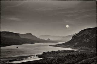Moonrise over the Columbia | by Zane's Photography