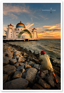 Malaysia - The Straits Mosque, Malacca | by TOONMAN_blchin
