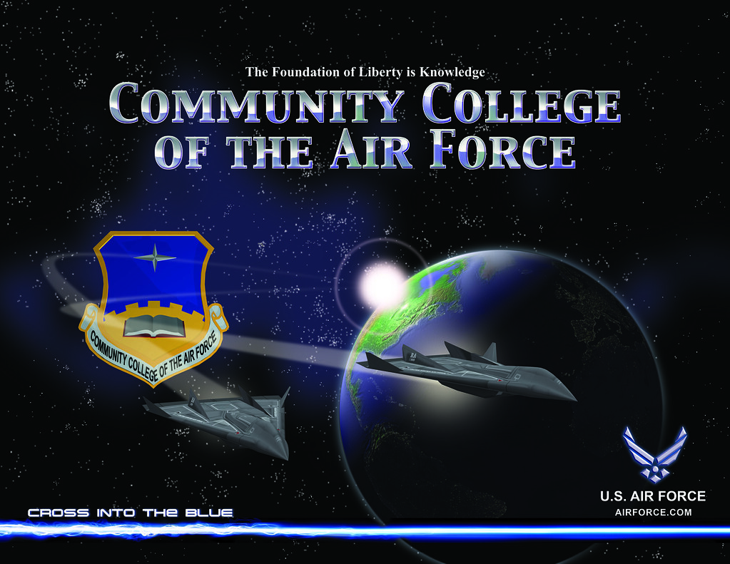 Ccaf Poster A 22 Quot X 17 Quot Community College Of The Air