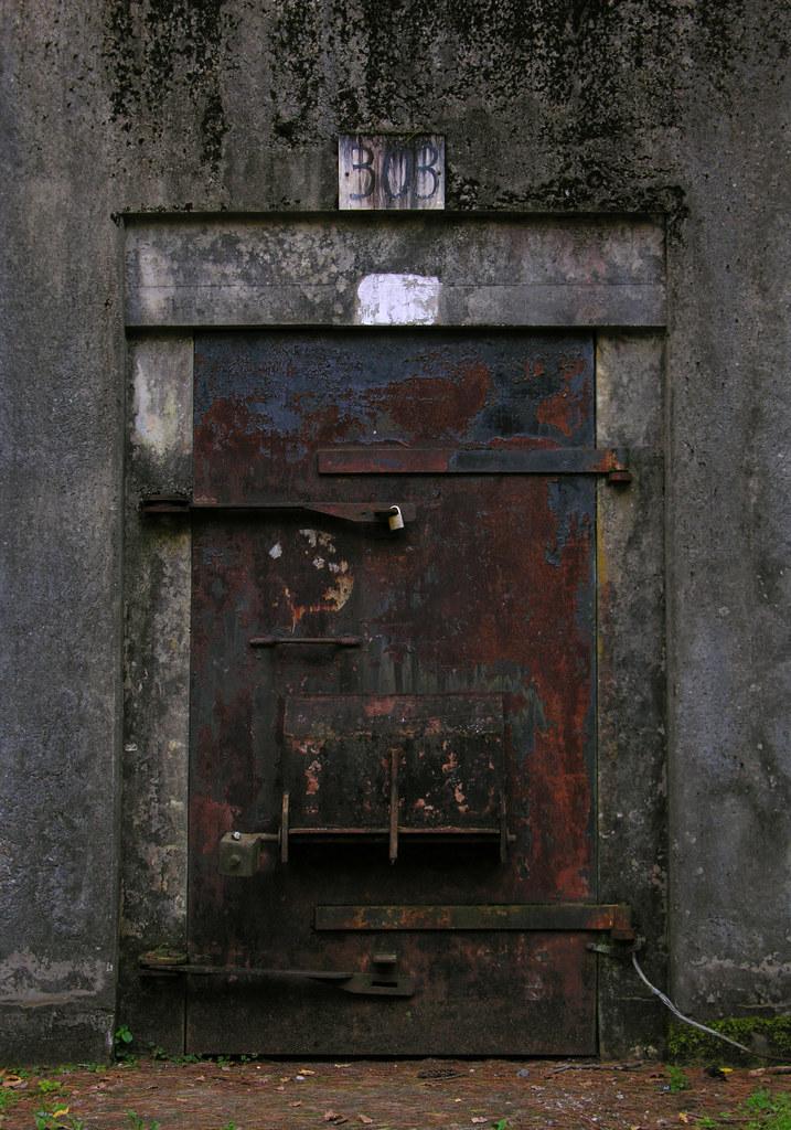 Bunker door   by jere7my Bunker door   by jere7my & Bunker door   jere7my tho?rpe   Flickr