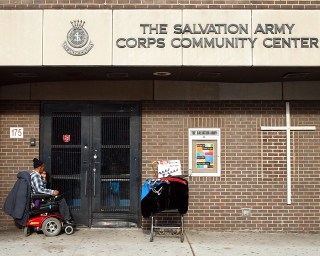 The salvation army corps community center east harlem new york city