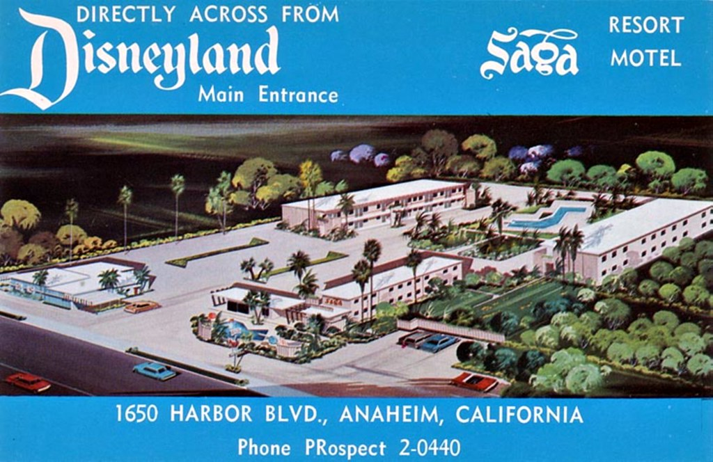 Saga Resort Motel - Anaheim, California