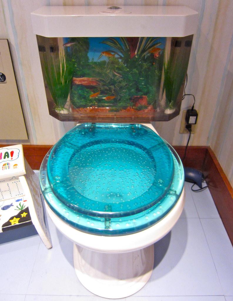 Fish tank toilet - Flush Anxiety By Jurvetson Flush Anxiety By Jurvetson