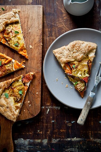 Heirloom Tomato Galette | by tartelette
