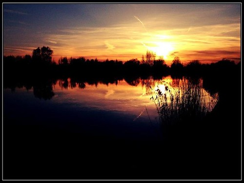 Sunset | by Arie van Tilborg