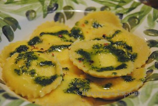 Lemon Goat Cheese Ravioli | by BaronessTapuzina