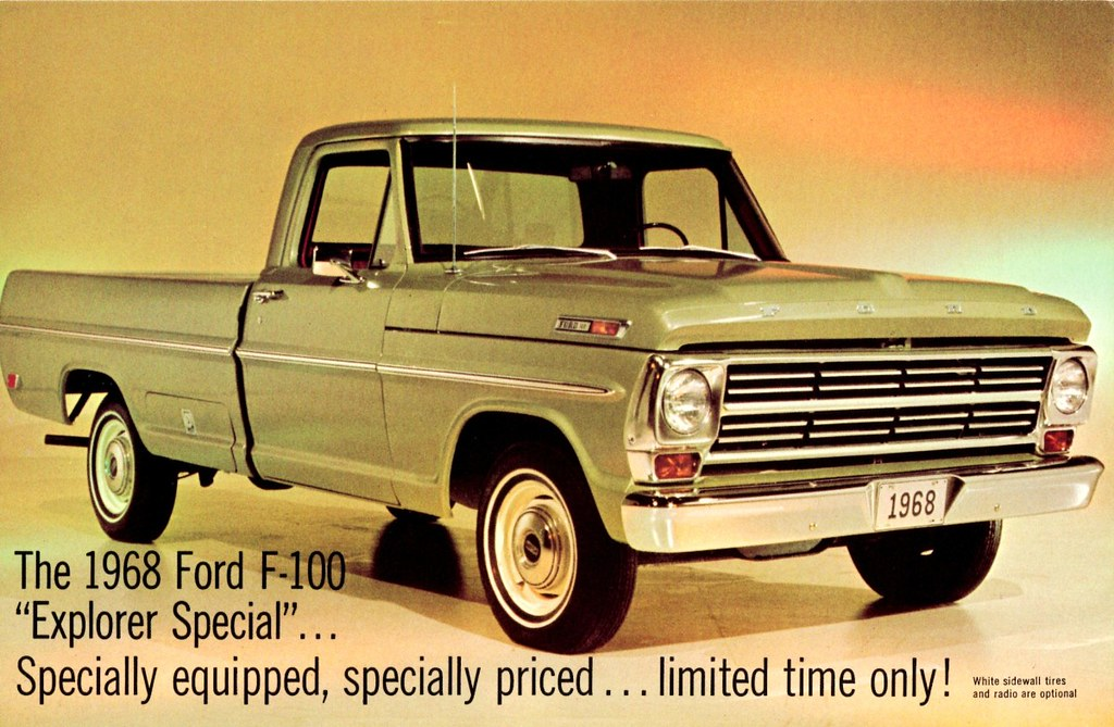 1968 Ford F 100 Explorer Special Pickup Alden Jewell
