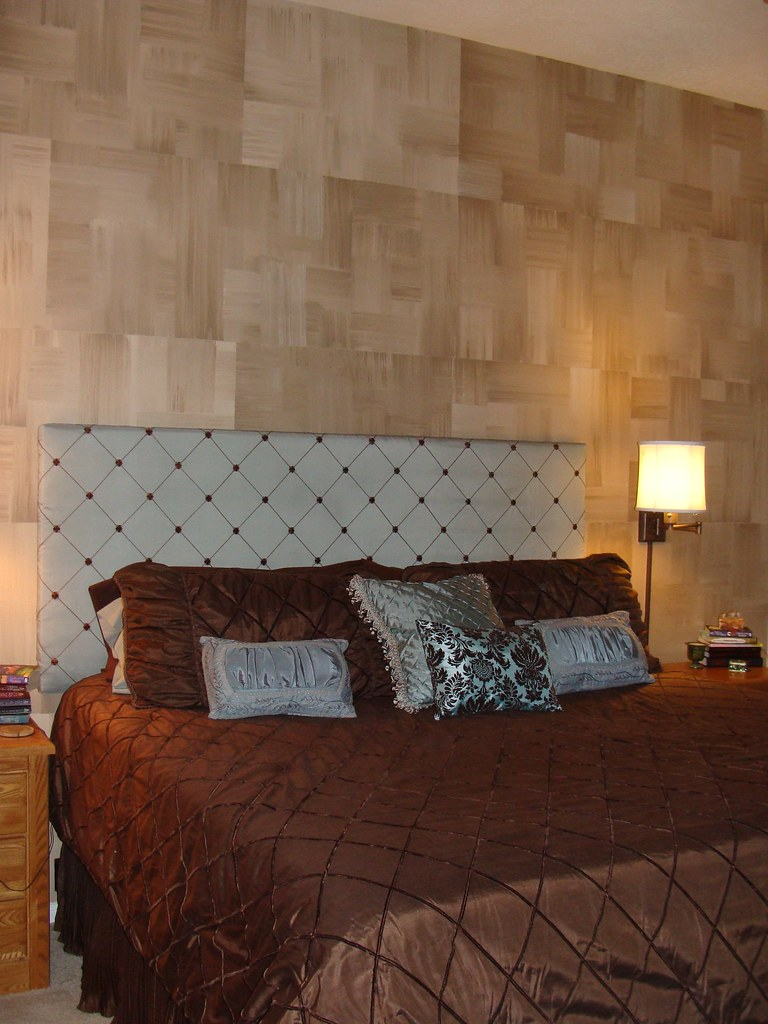BEDROOM WALL GOT THE IDEA FROM LOWES CREATIVE IDEAS WWW LO