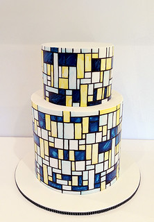 Mondrian inspired cake | by Sweet Disposition Cakes