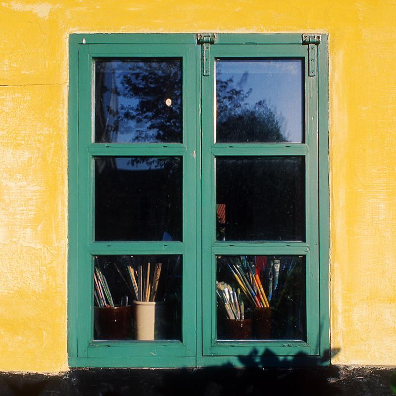 The artist's window