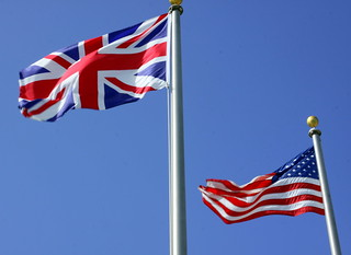 British & American flags side by side | by Symbiosis