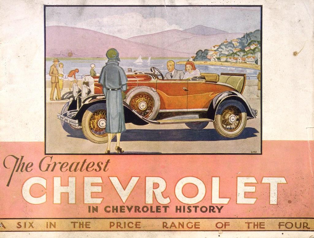 Chevrolet At General Motors Petone 1930 General Motors