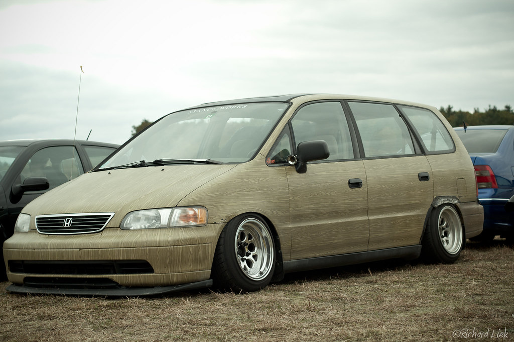 Bag Rider S Bagged Honda Odyssey Broke Down 2011