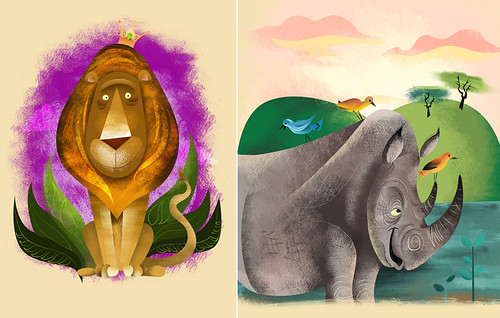 Animal Prints | by monkeyworks illustration