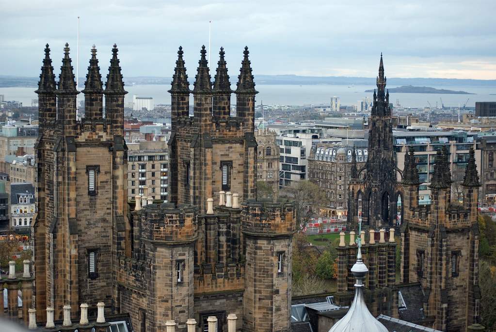 School of Divinity (Edinburgh University) and the Scott Mo ...