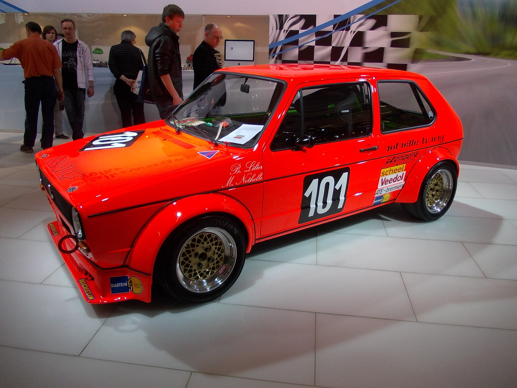 Vw Golf I Nothelle Tuning 1 Techno Classica Essen