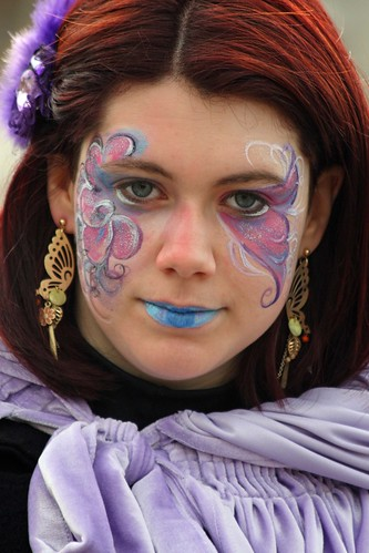 Face painter at work (IMG_0620a) | by Alaskan Dude