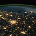 Southeastern U.S. at Night (NASA, International Space Station, 10/18/11)
