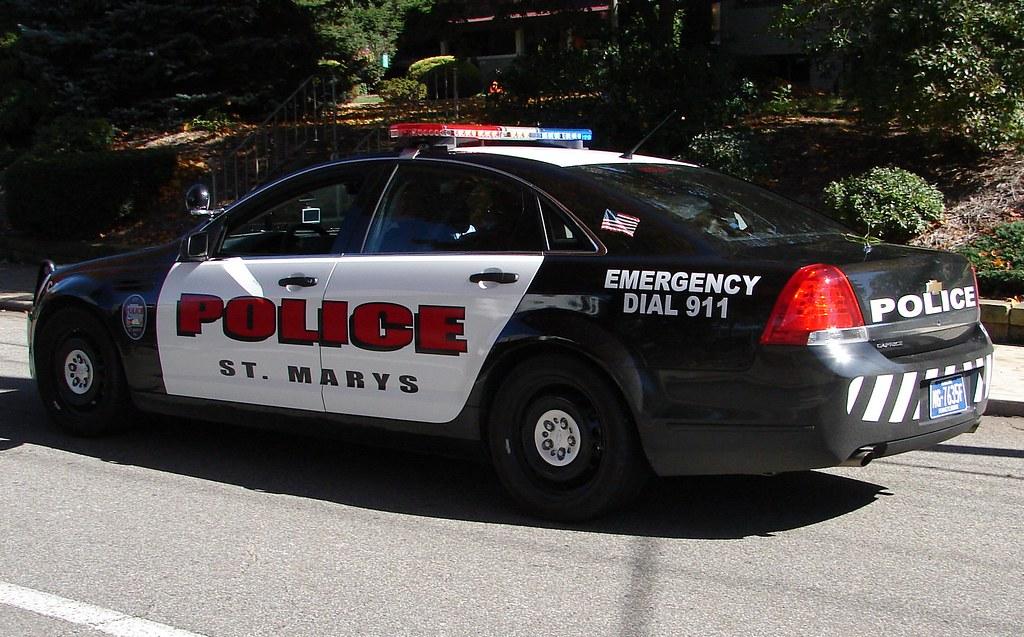 St Marys Pennyslvania Police St Marys Pennsylvania
