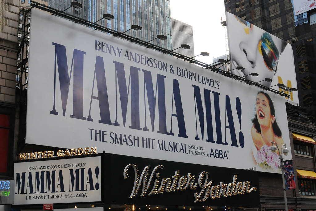 Mamma Mia Marquee Winter Garden Theatre On Broadway Flickr