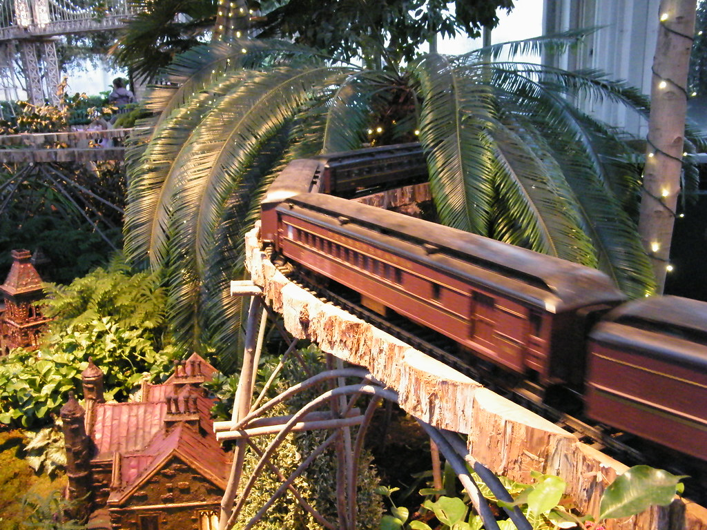 New york botanical garden train show model pennsylvania r Botanical garden train show