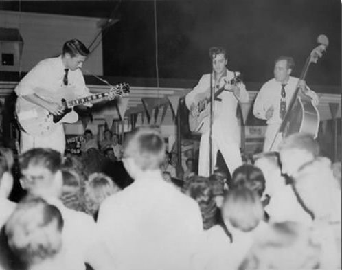 Elvis and the Blue Moon Boys, July 1955 | Railroad Jack | Flickr