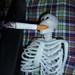 Lionel has a halloween smoke