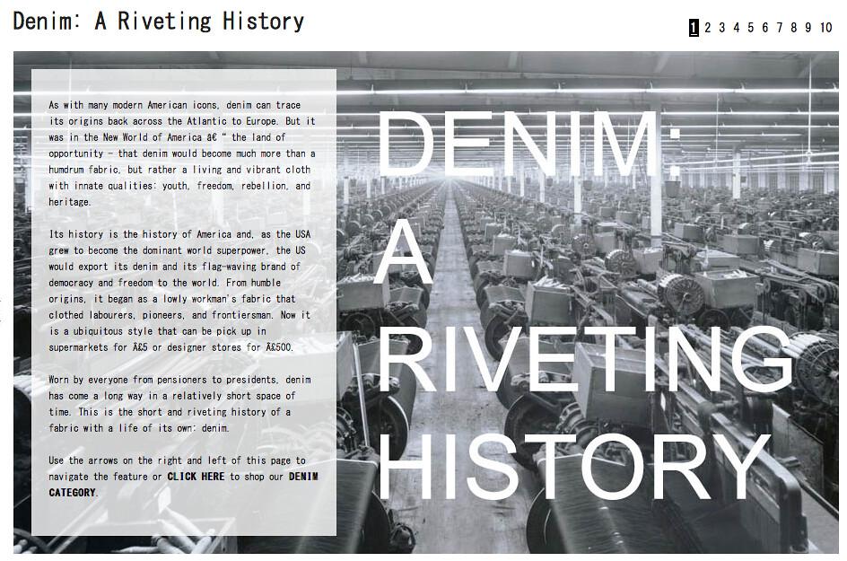 Denim A Riveting History 01 | Madness Magazine | Flickr - photo#25