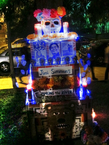 Shimmering Day of the Dead Altar | by Walker Dukes
