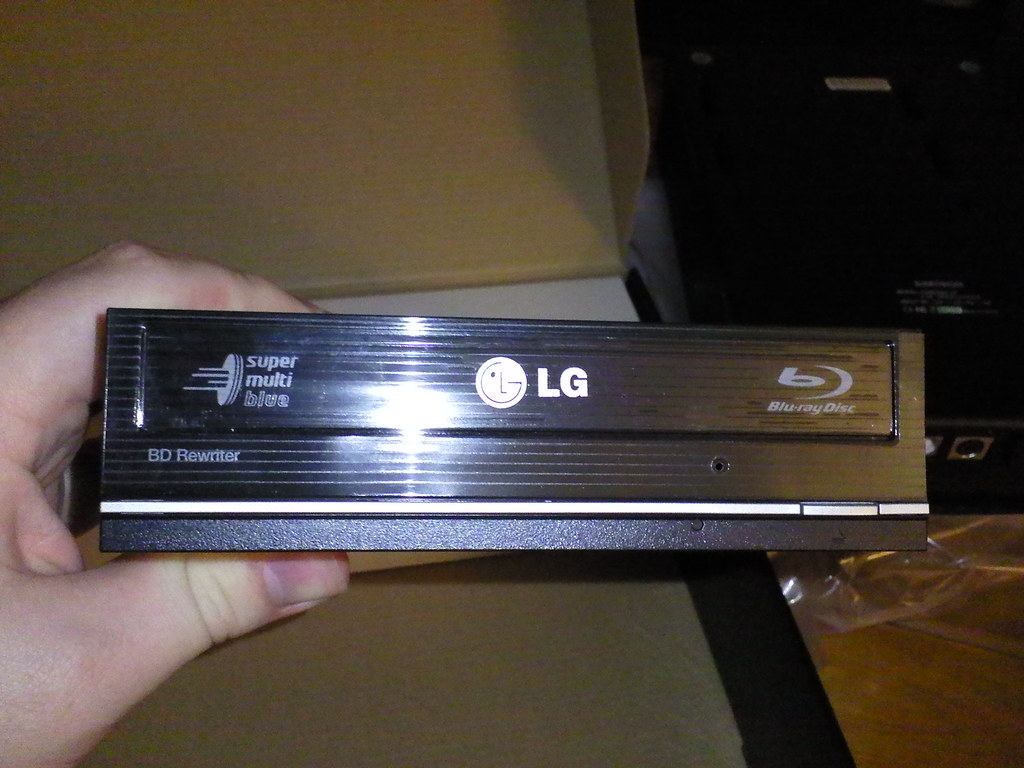 LG BH10LS30 Blu-ray Drive Mac