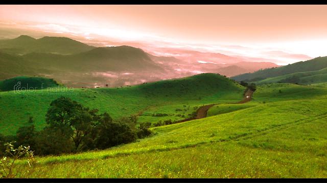 Misty morning, Kodacha... Kodachadri Clouds